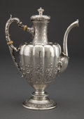 Silver Holloware, American:Tea Pots, A GORHAM SILVER TEA POT . Gorham Manufacturing Co., Providence,Rhode Island, circa 1890. Marks: (lion-anchor-G) STERLING...