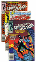 Modern Age (1980-Present):Superhero, The Amazing Spider-Man #251-300 Group (Marvel, 1984-88) Condition:Average VF+.... (Total: 50 Comic Books)