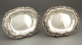 Silver Holloware, American:Compotes, A PAIR OF TIFFANY & CO. SILVER FOOTED COMPOTES . Tiffany &Co., New York, New York, circa 1880-1891. Marks: TIFFANY &CO.,... (Total: 2 )