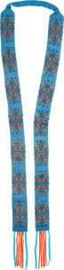 American Indian Art:Beadwork and Quillwork, A PLATEAU BEADED HARNESS...