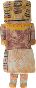 American Indian Art:Kachina Dolls, A HOPI COTTONWOOD KACHINA DOLL. c. 1940...