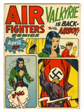 Golden Age (1938-1955):War, Air Fighters Comics V2#7 (Hillman Fall, 1944) Condition: FN-....