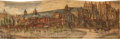 Books:Fore-edge Paintings, [Fore-Edge Painting]. Thomas Park [editor]. The British Poets:with the Most Approved Translations of the Greek and Roma...