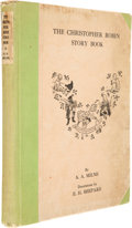 Books:Signed Editions, A. A. Milne. The Christopher Robin Story Book. WithDecorations by Ernest H. Shepard. New York: E. P. Dutton, [1929]...