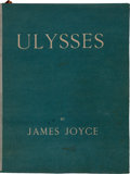 Books:Literature 1900-up, James Joyce. Ulysses. Paris: Shakespeare and Company, 1922.First edition. Number 540 of 750 numbered copies on ...