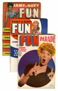 Magazines:Humor, Army & Navy Fun Parade File Copy Short Box Group (Fun Parade,1950s) Condition: Average FN/VF....