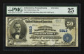 National Bank Notes:Pennsylvania, Johnstown, PA - $50 1902 Plain Back Fr. 683 The United States NBCh. # 5913. ...