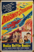 "Movie Posters:War, Dragonfly Squadron & Others Lot (Allied Artists, 1954). OneSheets (4) (27"" X 41""). War.. ... (Total: 4 Items)"