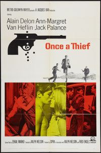 "Once a Thief & Other Lot (MGM, 1965). One Sheets (2) (27"" X 41""). Crime. ... (Total: 2 Items)"