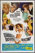 "Movie Posters:Comedy, Ghost In The Invisible Bikini (American International, 1966). One Sheet (27"" X 41""). Comedy.. ..."