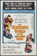 "Movie Posters:Fantasy, The Wonderful World of the Brothers Grimm (MGM, 1962). One Sheet (27"" X 41""). Fantasy.. ..."