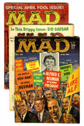 Magazines:Mad, Mad Magazine Group (EC, 1958-69) Condition: Average FN.... (Total:10 Comic Books)