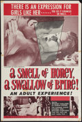 "Movie Posters:Sexploitation, A Smell of Honey, a Swallow of Brine (Sonney Amusement Enterprises, 1966). One Sheet (27"" X 41""). Sexploitation.. ..."