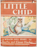 Books:Children's Books, Berta and Elmer Hader. Little Chip of Willow Hill. New York:Macmillan, 1958. First edition, first printing. Octavo....