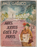 Books:First Editions, Paul Gallico. Mrs. 'Arris Goes to Paris. Garden City:Doubleday, 1958. First edition, first printing. Twelvemo. Publ...