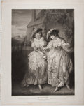 Antiques:Posters & Prints, Engraved Print from Boydell's Shakespeare Entitled, Merry Wives of Windsor. Cheapside: J. & J. Boyde...