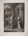 Antiques:Posters & Prints, Engraved Print from Boydell's Shakespeare Entitled, MerryWives of Windsor. Cheapside: J. & J. Boyde...