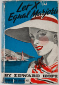Books:First Editions, Edward Hope. Let X Equal Marjorie. New York: Triangle Books,[1939]. First edition. Octavo. Publisher's binding ...