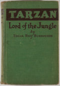 Books:First Editions, Edgar Rice Burroughs. Tarzan: Lord of the Jungle. Chicago:McClurg, 1928. First edition, first printing. Octavo....