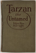 Books:First Editions, Edgar Rice Burroughs. Tarzan the Untamed. Chicago: McClurg,1920. First edition, first printing. Octavo. Publish...
