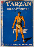 Books:Fiction, Edgar Rice Burroughs. Tarzan and the Lost Empire. New York:Grosset & Dunlap, [1929]. Later edition. Octavo. Publish...