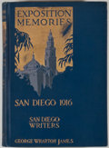 Books:First Editions, George Wharton James. Exposition Memories: Panama-CaliforniaExposition, San Diego, 1916. Pasadena: Radiant Life Pre...