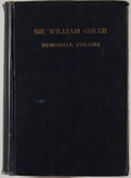 Books:First Editions, [William Osler, subject]. Maude E. Abbott [editor]. Bulletin No.IX of the International Association of Medical Museums ...