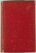 Books:First Editions, William Osler. An Alabama Student. New York: OxfordUniversity Press American Branch, 1908. First edition. Octavo. P...