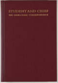 Books:First Editions, [William Osler, subject]. Earl F. Nation and John P. McGovern[editors]. LIMITED. Student and Chief: The Osler-CamacCor...