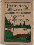 Books:First Editions, Fifth Annual Report of the Commissioners of Fisheries, Game andForests of the State of New York. [Albany: State of New ...