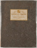 Books:First Editions, American Etchers Vol. I: Ernest D. Roth. New York: T.Spencer Hutson, [1929]. First edition. Quarto. Publisher'sbinding...