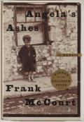 Books:Signed Editions, Frank McCourt. INSCRIBED. Angela's Ashes. [New York]: Scribner, [1996]. Later printing. Inscribed by McCourt on ti...