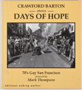 Books:Signed Editions, Mark Thompson [foreward]. Crawford Barton. INSCRIBED BY THOMPSON. Days of Hope. [London]: Editions Aubrey Walter...