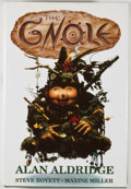 Books:Signed Editions, Alan Aldridge. INSCRIBED. The Gnole. London: Heinemann, [1991]. First edition, first printing. Inscribed by Aldridge on ...