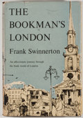 Books:First Editions, Frank Swinnerton. The Bookman's London. Garden City:Doubleday, 1952. First edition. Octavo. Publisher's binding and...