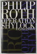Books:First Editions, Philip Roth. Group of Two First Edition Books, including:Operation Shylock. New York: Simon & Schuster, [1993].[an... (Total: 2 Items)