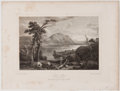 Antiques:Posters & Prints, Lot of 5 Antique Plates of Scottish Lochs and Scenic Views....