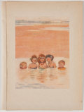 Antiques:Posters & Prints, Lot of 13 W. Heath Robinson Illustrations From Bill theMinder....