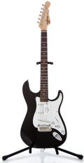 Musical Instruments:Electric Guitars, G & L Tribute S 500 Black Solid Body Electric Guitar#03104564...