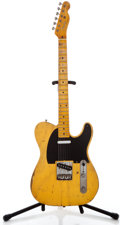 Musical Instruments:Electric Guitars, 2004 Nash Tele Butterscotch Solid Body Electric Guitar ...