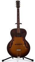 Musical Instruments:Electric Guitars, 1950 Gibson ES 125 Sunburst Archtop Electric Guitar #3779 14...