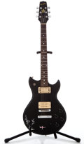 Musical Instruments:Electric Guitars, 1980's Westbury Standard Black Solid Body Electric Guitar ...