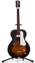 Musical Instruments:Electric Guitars, 1950's Old Kraftsman Single Pickup Sunburst Archtop Electric Guitar...