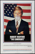 "Movie Posters:Drama, The Candidate (Warner Brothers, 1972). One Sheet (27"" X 41""). Drama.. ..."