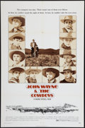 "Movie Posters:Western, The Cowboys (Warner Brothers, 1972). One Sheet (27"" X 41"") Style A. Western.. ..."