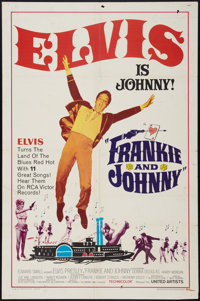 """Frankie and Johnny (United Artists, 1966). One Sheet (27"""" X 41""""). Elvis Presley"""