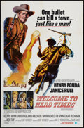 "Movie Posters:Western, Welcome to Hard Times (MGM, 1967). One Sheet (27"" X 41""). Western.. ..."