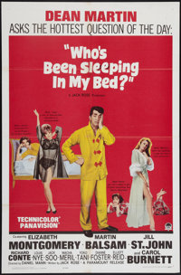 """Who's Been Sleeping in My Bed? & Other Lot (Paramount, 1963). One Sheets (2) (27"""" X 41""""). Comedy. ... (Tot..."""