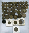 Colombia, Colombia: CUARTILLA 1/4 Real Study Group,... (Total: 106 coins)