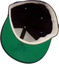 Baseball Collectibles:Hats, Wade Boggs Signed Cap....